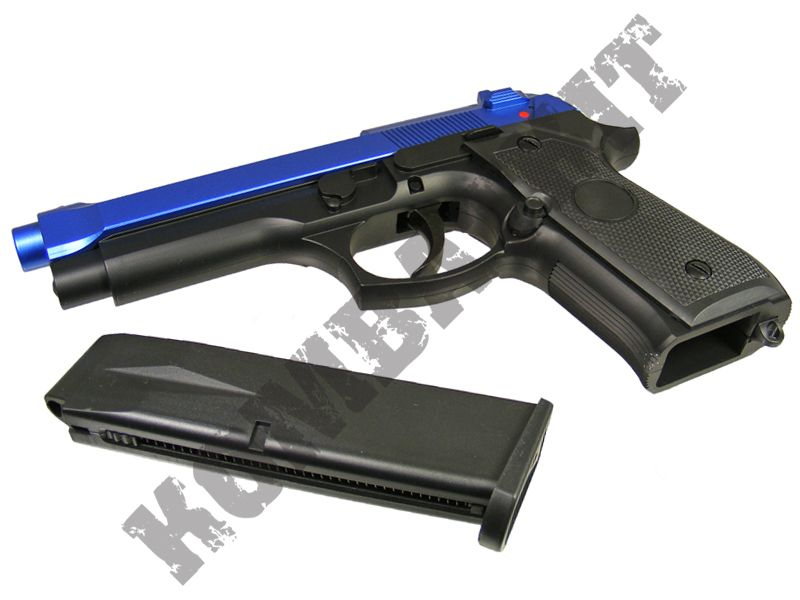 Gg104 bb gun beretta m9 pistol replica gas airsoft 2 for Bb shop